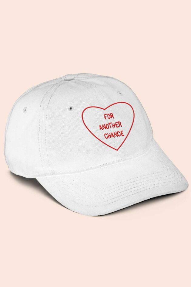 Gorra blanca for another chance