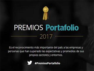 Estos son los finalistas de los Premios Portafolio 2017