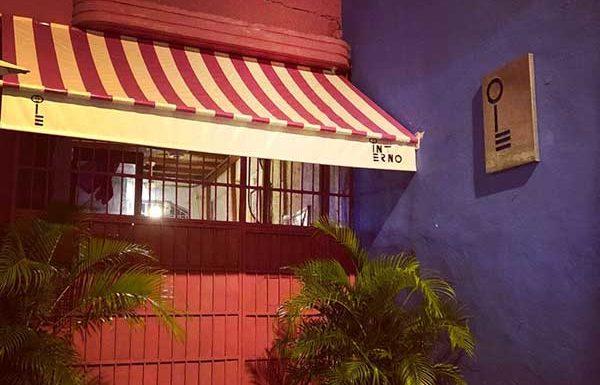 Fachada restaurante INTERNO en Cartagena