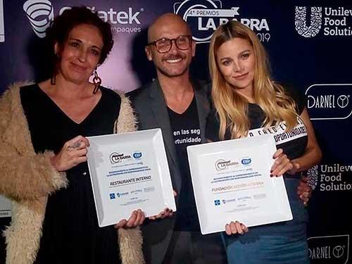 Doble triunfo en premios La Barra